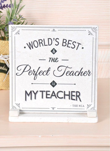Plaket Mermer - Teacher-The Mia